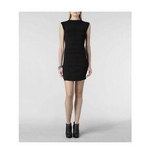Allsaints Little Black Mantoro Dress size US 4